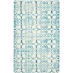 Safavieh Dip Dye Ivory/Brown 5 ft. x 8 ft. Area Rug-DDY711F-5 - The Home Depot
