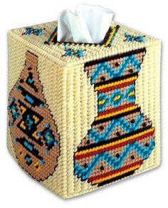 Southwestern Tissue Box Cover