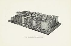 """Model of Block on Lower East Side,"" from the Tenement House Exhibition of 1900."