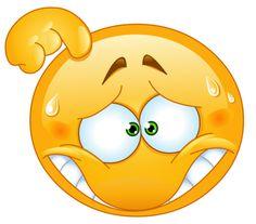 Embarrassed emoticon on Designs Next http://www.designsnext.com/10-cute-smiley-emotions/