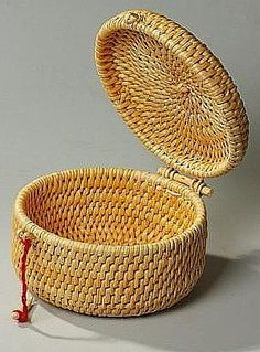 .coil sewing basket