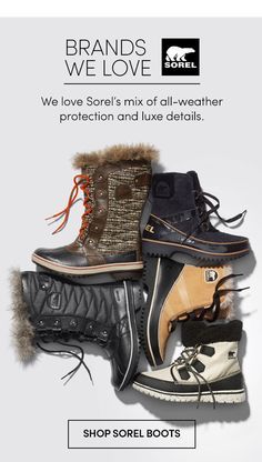 BRANDS WE LOVE | SHOP SOREL BOOTS 11.3 athleta