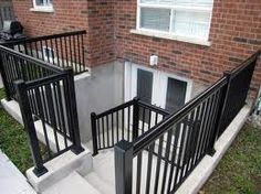creating well for french door in basement for egress Egress