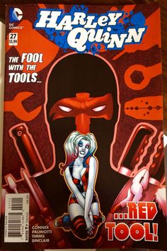 1st App. Red Tool  Hmmmm sounds like that guy from marvel comics, what's his name? I think it's Dead something