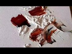 Abstract painting / Acrylics mixed with GESSO / Experimental / Texture / Demonstration - YouTube