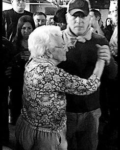 Bruce — Bruce and his mom Adele at Asbury Park Wonder Bar...