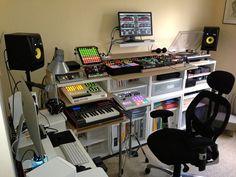 Adam Gahan's studio