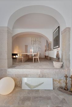 Mamede House / Aires Mateus - 15 Gallery - S. Mamede House / Aires Mateus - - S. Interior Design Kitchen, Modern Interior Design, Interior Design Inspiration, Interior Architecture, Interior And Exterior, Luxury Interior, Daily Inspiration, Home Modern, Style Deco