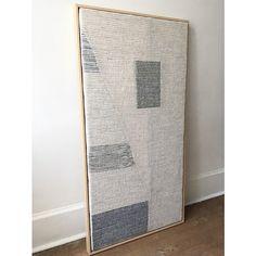 "Recent commission, ""Hidden Landscape"" Weaving Wall Hanging, Weaving Art, Tapestry Weaving, Hand Weaving, Neutral Walls, Textile Fiber Art, Thread Art, Bedroom Art, Weaving Techniques"