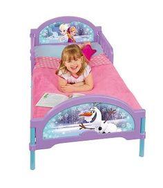 Venta Cama Frozen infantil. 455FZN +. Con colchón y almohada