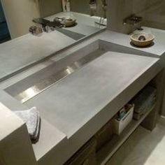 Baños de estilo moderno por Concrete LCDA