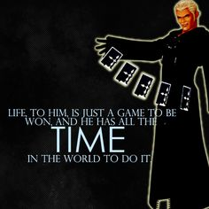 Luxord from Kingdom Hearts