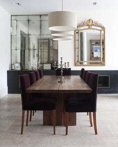 Dining Area Alcove Mirrors (From Rupert Bevan Ltd)