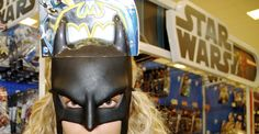 Beyonce ...in Target...wearing a Batman mask. I thought I couldn't love her more.