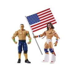 WWE John Cena & The Ultimate Warrior Battle Pack Series 31 Action Figures. #WWE #JohnCena #TheUltimateWarrior