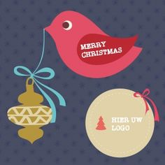 Kerstkaarten en nieuwjaarskaarten van Santhos! Merry Christmas, Logos, Holiday, Cards, Design, Merry Little Christmas, Vacations, Logo