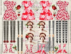 Holiday Paper Dolls