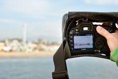 Cloak Camera Bag - The world's first shoot-through camera bag. $69