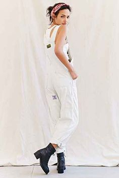 Urban Renewal Recycled Work Wear Overalls - Urban Outfitters