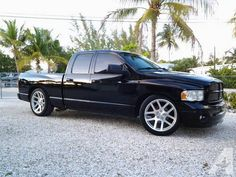 I've got a good looking truck for sale! 2003 Dodge Ram 1500 base model with some upgrades. Engine runs perfect, pulls strong and idles smooth. All electronics work. Here are the key features: Exterior/Body: -Black exterior including painted bumpers, the whole truck is painted, no chrome! -Paint is less than a year old -De-badged except for the Ram logo on the hood, no emblems for a clean look -Side view mirrors from a 2010 model -Fog lights -Windows tinted -Aftermarket keyless entry with 2…