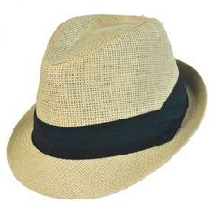 9ea468ad78075 Jeanne Simmons Classic Fedora Hat Straw Fedora
