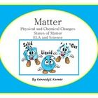 This FABULOUS 69 page Science Unit has all of the materials you need to teach your students about MATTER and CHANGES.  The Power Point Presentation...