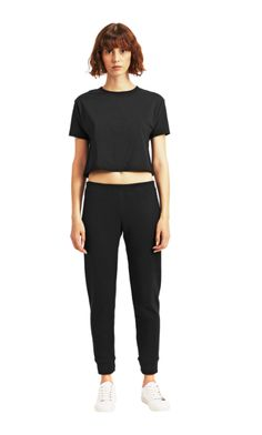 You Should Know: UniformIf you're all about trying the best basics, add Uniform to your list of brands to order from. You won't be disappointed.Uniform Jogger Pant, $42, available at Uniform. #refinery29 http://www.refinery29.com/2016/10/127174/best-new-designers-lpa-st-roche-merlette#slide-14