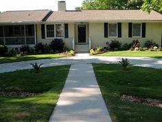 Semi circle driveway google search driveway for Semi circle driveway designs