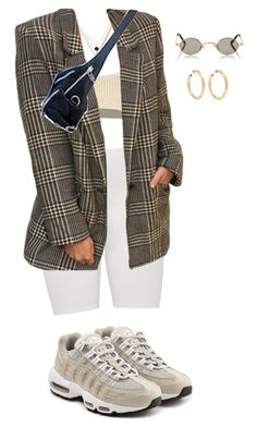 """""""Untitled #238"""" by eviebull on Polyvore featuring LowLuv, Yeezy by Kanye West, NIKE, Roberi & Fraud and Jennifer Fisher"""