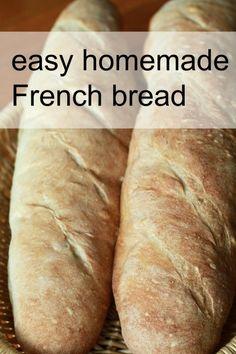 Bread Machine Recipes, Bread Recipes, Baking Recipes, Easy Recipes, Bread Bun, Bread Rolls, Pan Bread, Pain Artisanal, Homemade French Bread