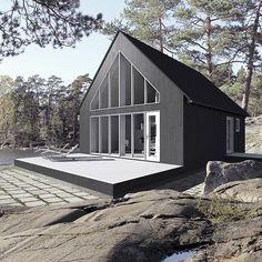 Saaristolaistalo M3 SUNHOUSE Modern Prefab Homes from Jarkko Könönen, arkkitehti