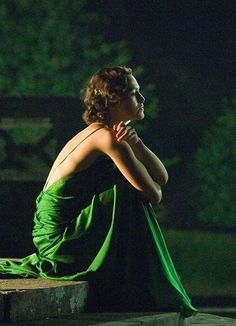 Simply Beautiful lady in green v