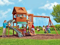 Animated backyard playground design plans ideas for homeowners