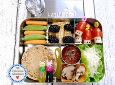 My Epicurean Adventures: Happy Bento! Lunches on the Go Book Review and Giveaway. Lunch box ideas, school lunch ideas, lunches