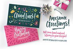 Hello Lucky Font Set by Nicky Laatz on @creativemarket