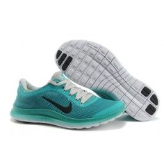 on sale ff2bf 9d0a9 Billige Nike Free 3.0 Print Damesko Lys Blå Lys Grå Sko Online  Fantastisk Nike  Free