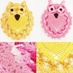 Corujas lindas enviadas pela nossa cliente Lu Freitas! Encontre barbantes para fazer também no www.armarinhosaojose.com.br #artesanato #croche #agulhas #artemanual #armarinhos #saojosearmarinho #lovecroche #crocheteira #crochebrasil