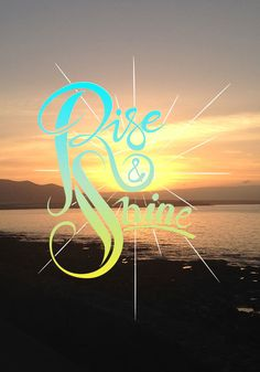 Rise and shine on Behance