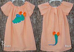 Florida Gators Dress with tail!