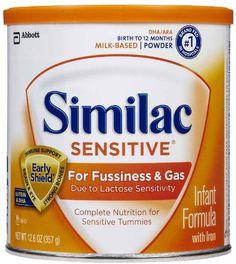Similac Sensitive Baby Formula Powder, oz (Pack of Similac Sensitive. Lactose Sensitivity, Baby Formula Milk, Baby Gallery, Complete Nutrition, Baby Feeding, Gourmet Recipes, Milk Baby, Powder, Toddler Stuff
