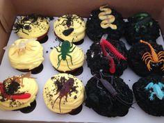 Fear Factor cupcakes