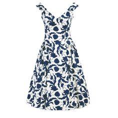 SIMBA DRESS<br/>blue floral