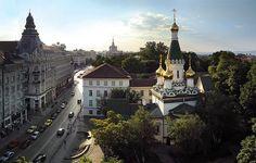 The Church of St Nicholas the Miracle-Maker, Sofia, Bulgaria