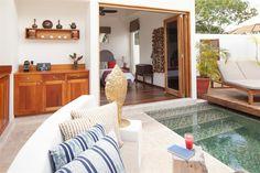 Private villa at Ka'ana Boutique Resort, Belize  #jetsetter #xoBelize