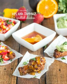 {3 Recipes} Dips for Grilled Chicken | Chelsea's Messy Apron