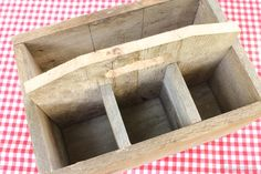 I finally decided on making a DIY Buffet Caddy from that worn wood. It's perfect for cookouts and barbecues!