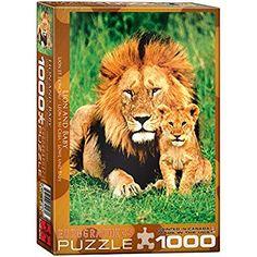 GuDoQi Puzzle da 1000 Pezzi Adulti Puzzle Animali Selvaggi per Bambini Adolescente