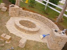 Fire pit for the back yard. Please can I have this in my back yard!