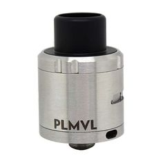 PLMVL Style  316SS RDA Rebuildable Dripping Atomizer - Silver