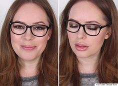 Image result for makeup with glasses